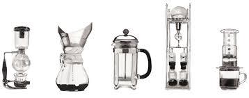 Coffee Brewing Type Mticky