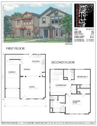 100 Picture Of Two Story House Plan D3138 B