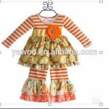 Fancy Western Wear For Girls Kids Vintage Clothing Wholesale Baby Floral Dress And Pant Name