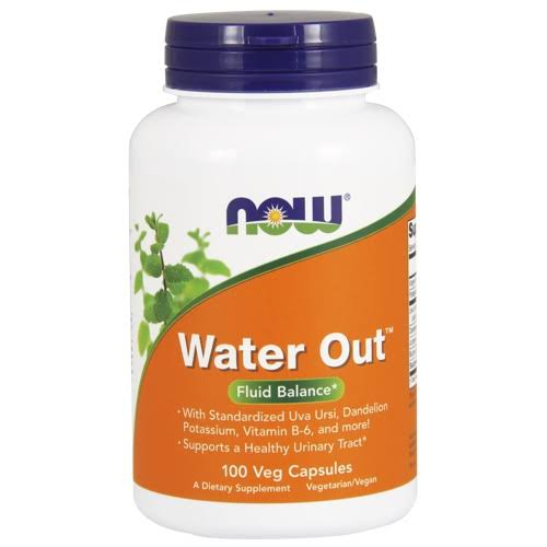Now Water Out Herbal Diuretic