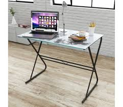 Tempered Glass Computer Desk by Tempered Glass Computer Student Desk World Map Rainbow Pattern