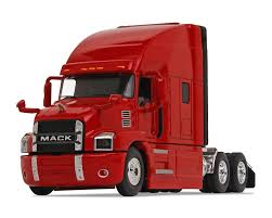 100 Truck Sleeper Cab Amazoncom First Gear 164 Scale Diecast Collectible Crossroads Red