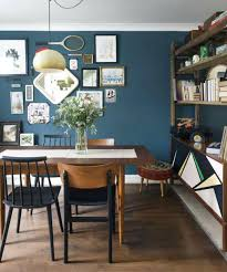 Blue Dining Room Ideas All Pictures Decorating Walls