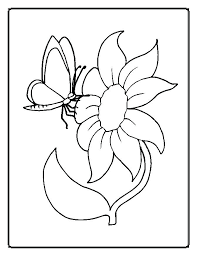 Printable Coloring Pages Spring Flowers Adults Only Flower