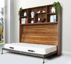 Sapce Saving Side mounted Pull Down Bed System Murphy Wall Bed