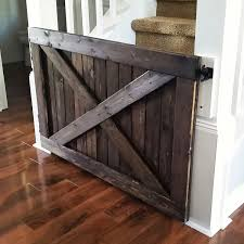 Barn Door Baby Gate Baby Gate With A Rustic Flair Weeds Barn Door Babydog Simplykierstecom Diy Pet Itructions Wooden Gates Sliding Doors Ideas Asusparapc The Sunset Lane Barn Door Baby Gate Reclaimed Woodbarn Rockin The Dots How To Make 25 Diy 1000 About Ba Stairs On Pinterest Stair Image Result For House