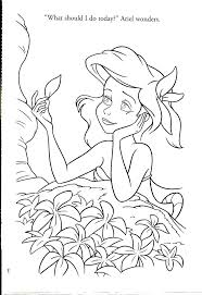 The Little Mermaid Ariel Coloring Pages Free Colouring Book Sheets Full Size