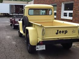 100 1950 Willys Truck 1962 Jeepster Photo Submitted By Staff