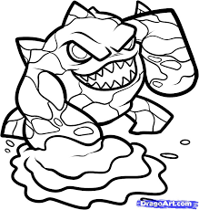 Online For Kid Skylanders Coloring Pages To Print 75 Your Download With