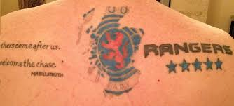 Anyone Have Rangers Tattoos