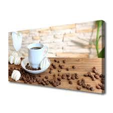 tasse kaffee kaffeebohnen küche leinwand bilder tulup de