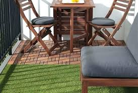 Outdoor Flooring Solutions Options Over Concrete Grass New Blue Stone Polypropy