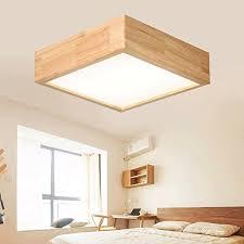 les de bureau led ywyun plafonnier led de style japonais les lumières carrées maison