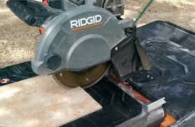 Ridgid 7in Tile Saw With Laser by Ridgid R4040s 8 U201d Wet Tile Saw Review Pro Tool Reviews