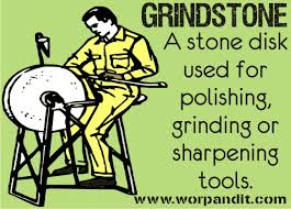 At Some Point Of Time We Have All Seen Grindstones And Rubbed Our Noses Against It Alsomore So Figuratively Rather Than Literally