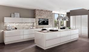 moderne einbauküche norina 9555 seidengrau küchenquelle