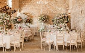 Almonry Barn Romantic Wedding With Pink Colour Scheme Blush Flowers Images By Naomi Kenton