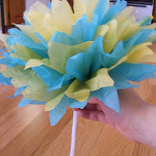 Tissue Paper Flower Craft Ideas And Tutorials On Crafts For