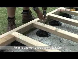 plot reglable pour terrasse bois installation de terrasse bois sur plots réglables