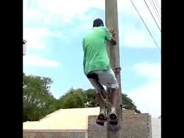 Who Invented The Lamp Post by Amazing Invention Of Climbing A Lamp Post Youtube