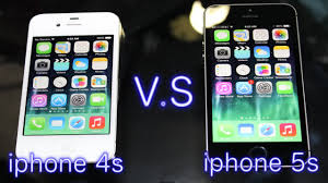 iphone 4s vs iphone 5s