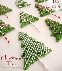 Easy Christmas Tree Rice Krispies Treats