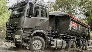 Mercedes Arocs Turbo Retarder Clutch (TRC) And Hydraulic Auxiliary ...
