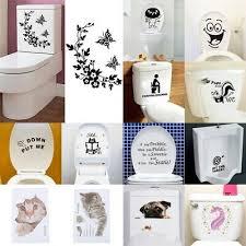 katzenpfoten wc deckel aufkleber wandtattoo toilettendeckel