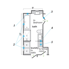 Bathroom With Laundry Floor Plans Floor Plans Bath Laundry Room