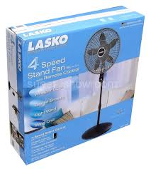 Lasko Floor Fan With Remote by 4 Speed Oscillating Adjustable 18