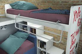 Tromso Loft Bed by Small Spaces Loft Bunk Beds Triple Bunk Bed Tumidei