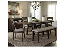 Liberty Furniture Double Bridge 6 Piece Trestle Table Set