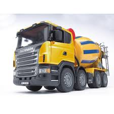 100 Bruder Trucks Cement Mixer Vehicle Toys By 03554 By