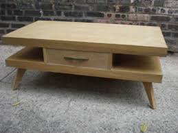 Kent Coffey Blonde Dresser by Mid Century Chicago Springfield Furniture Works Blonde Coffee Table