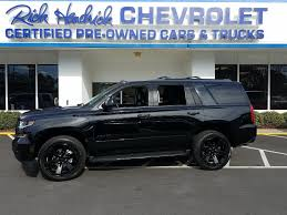 100 Premier Cars And Trucks PreOwned 2018 Chevrolet Tahoe SUV For Sale X25445A BMW