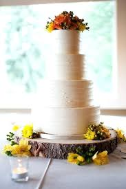 Tree Trunk Wedding Cake Stand Rustic Wood Slice Base Or Cupcake For Your Country Chic Bark