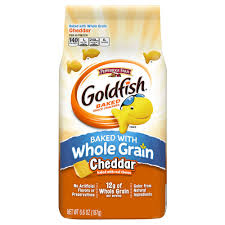 Pepperidge Farm Whole Grain Goldfish Baked Snack Crackers Cheddar 66 Oz