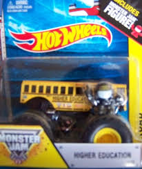 100 Monster Truck Tickets 2014 Amazoncom Higher Education School Bus 19 Hot Wheels OffRoad