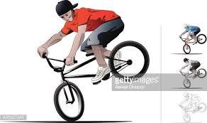 Bmx Bike Premium Clipart