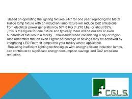 cgls presentation induction led lighting and the environment 20