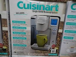 Cuisinart Single Serve Coffee Brewer