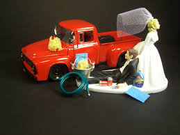 100 Funny Truck Pics AUTO CAR Wash 1956 Ford F100 Red Bride And Groom Etsy