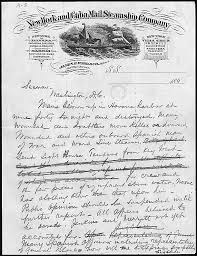 Sinking Of The Uss Maine Newspaper by Clara Barton Founder Of The American Red Cross