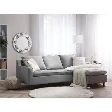 ecksofa hellgrau polsterbezug l förmig universal traditionell wohnzimmer