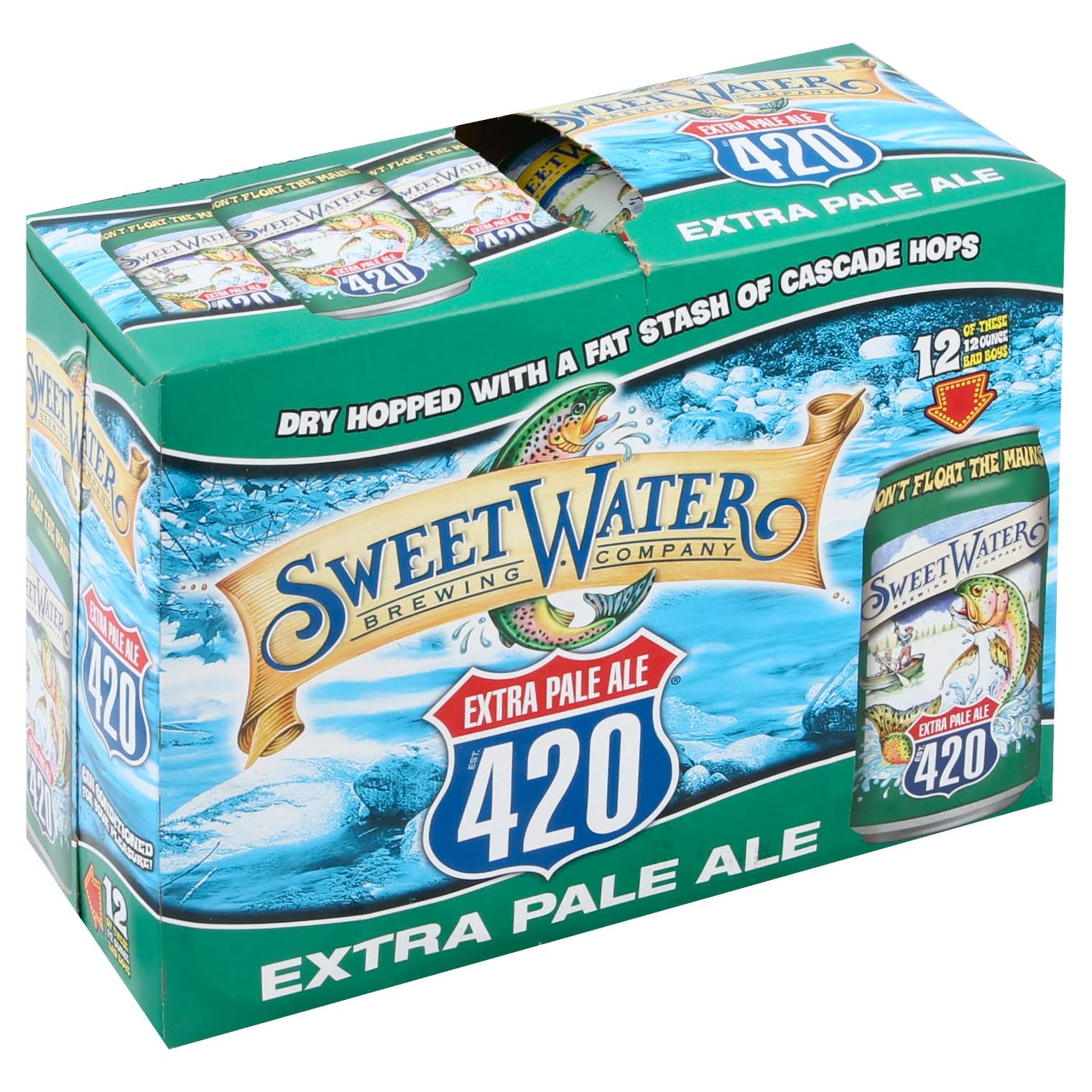 Sweetwater 420 Pale Ale - 12 pack, 12 fl oz cans