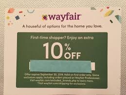 Wayfair.com 10% Off Entire Order COUPON - WAYFAIR 09-30-19 Exp Wayfaircom 10 Off Entire Order Coupon Wayfair 093019 Exp 6pm Coupon Promo Codes August 2019 Findercom How To Generate Coupon Code On Amazon Seller Central Great Strategy Ebay Code For Car Parts Free Printable Coupons Usa 2018 Partsgeek March Wcco Ding Out Deals Beautybay Eagle Rock Ca Patch Sams Club Instant Savings Book 500 Weekender Watches Ace Spirits Hot Promo Codes 40 Off Acespiritscom Coupons Expired 600 Bank Bonus From Chase Danny The Deal Guru Qvc Dec Baby Wipes