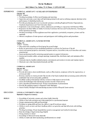 Clerical Assistant Resume Samples | Velvet Jobs Clerical Cover Letter Example Tips Resume Genius Sample Administrative New Rumes Examples Of 15 Mmus Form Provides Your Chronological Order Of Objectives For Positions Study Cv Samples Office Job Post Objective 10 Data Entry Jobs Proposal Letter Free Elegant Inventory Clerk What Makes Information 910 Examples Clerical Rumes Soft555com