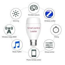 wireless wifi smart led light bulb support echo