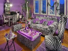 Zebra Room Decorating Ideas Living