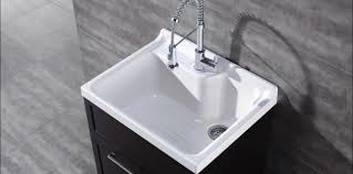 Fiberglass Corner Mop Sink by Laundry Room Sink And Cabinet Combo Metal Laundry Sink Deep Sinks